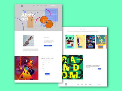 concept web page design