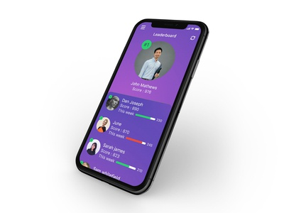 UI design-leaderboard