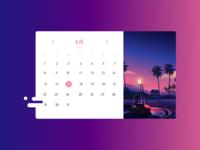 Calendar interface exercise