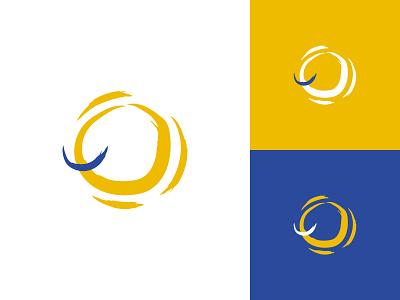 Sunshine concept branding identity mark logo yellow smile sunshine sun