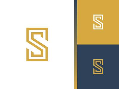 Double S ss identity design branding concept vector letter symbol logo mark s double