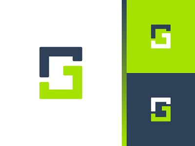 JG monogram symbol letter design branding identity mark logo