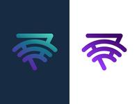 Wifi logo concept