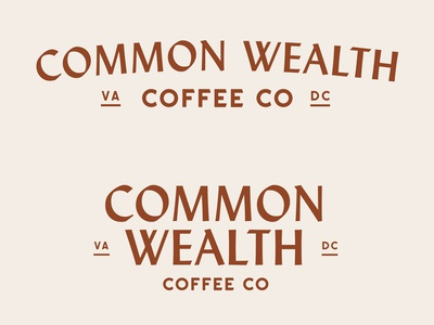 Common Wealth Coffee Co. Logos