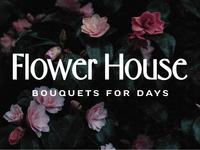 Flower House Branding