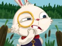 Suspicious bunny