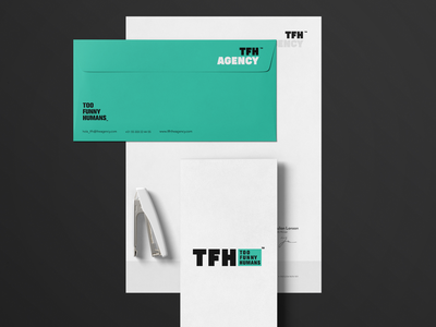 TFH Agency - Branding typography branding logo minimal design