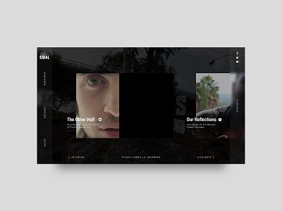 Kibal - Ustedes sneakpeek minimal website web ux ui design