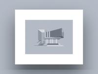 Minimalistic House Print (2/2)