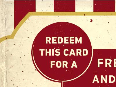 Popcorn Gift Card - Flipside alamo drafthouse popcorn vintage gift card movies