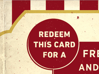 Popcorn Gift Card - Flipside