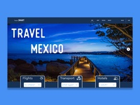 Travel Landing Page - Daily UI (Day 3)