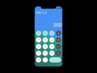 Calculator - Daily UI (Day 4)