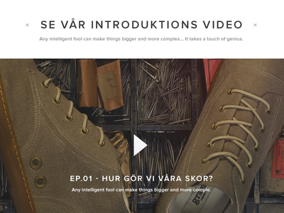 Footwear Webshop pt.2