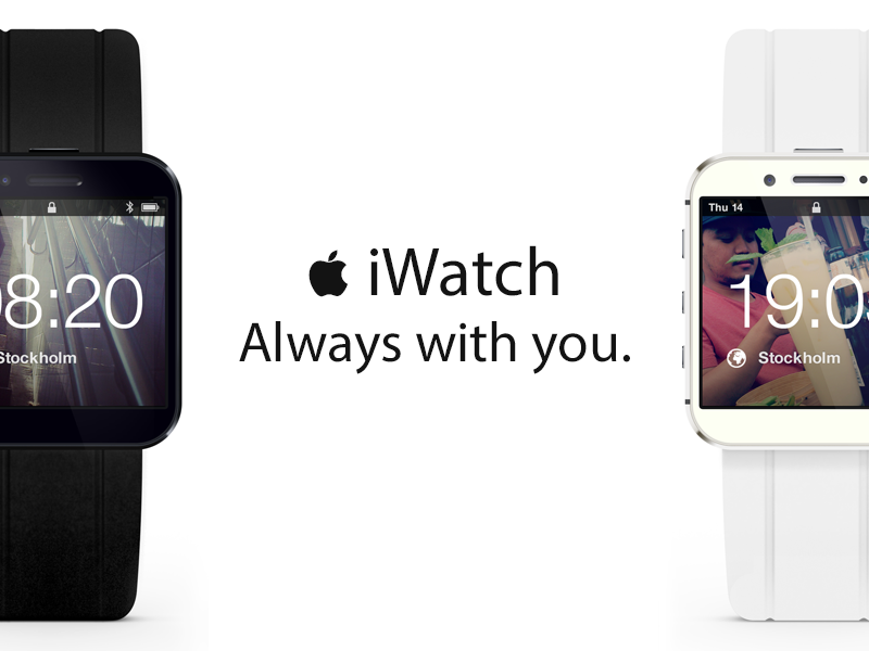 iWatch iwatch apple watch ios black colour white