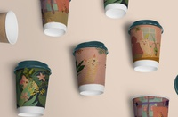 Coffee cup package design