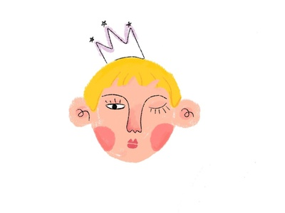 Prince new prince character illustration design