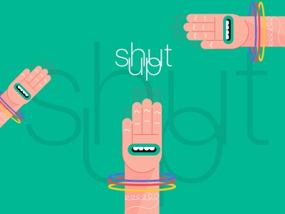 shut up illustration art 2020 design art challenge 2020 color vector character new illustration design