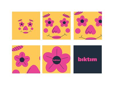 i'm sick of it flower illustration flower 2021 character design vector character new illustration design