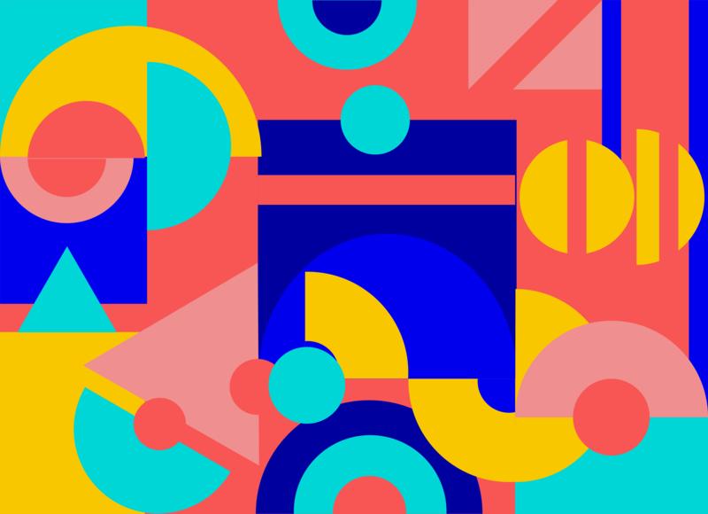 Color vector illustration vectors vector art ıllustrator geometric design geometric art geometric colors color character design character new vector illustration design