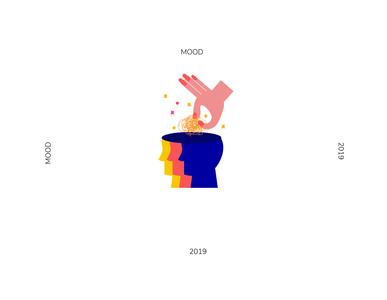 mood2 mood color new 2019 character design character vector illustration design