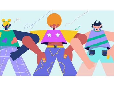 girls girl illustration girl character girls 2019 color girl character design character new vector illustration design