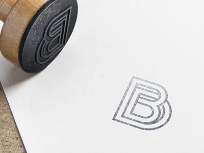 BD Monogram emblem bd monogram logo graphic design identity branding stamp mark icon vector