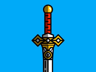 medieval sword 2  icon vector game war kingdom web king design graphic illustration sword age
