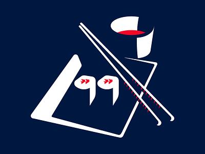 Sushi popart kitchen japan illustration design graphic negative space sauce plate chopstick food sushi