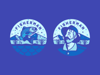 Fisherman Badges