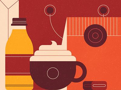 Coffee Shop espresso package soda cup latte shop coffee