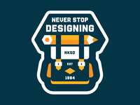 never stop designing