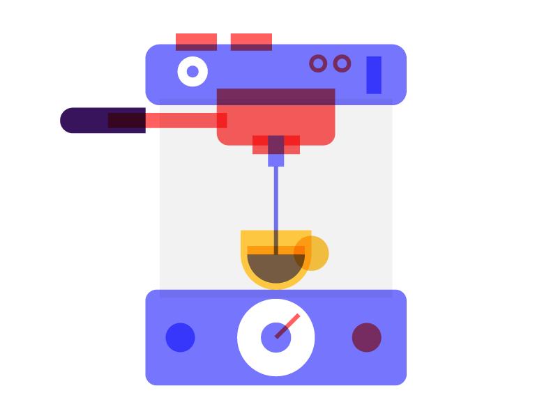 Espresso exploring intersection style design illustration coffee espresso
