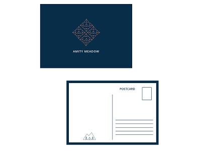 Amity Meadow | Postcards pattern adventure glamping postcards illustration patterns branding graphic design vector creative design digital