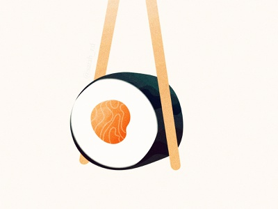 Sushi oriental culture sushi adobe illustrator digital vector illustration
