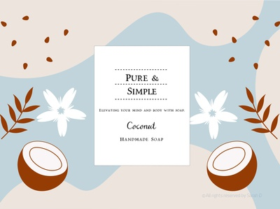 Pure & Simple Soap Packaging