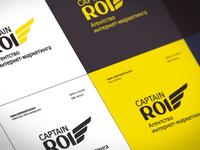 Captain ROI agency. Branding