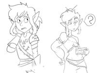 Link Doodles