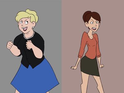 Pam & Cheryl/Carol/Crystal