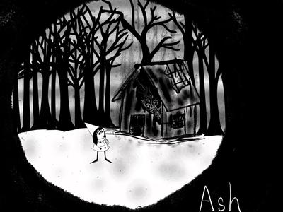 Inktober Day 13 - Ash