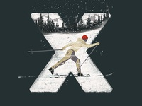 X for XC Skier