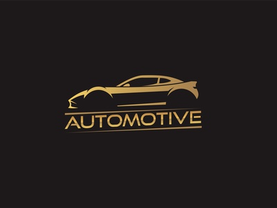 automotive logo garage race car logodesign illustration logo design
