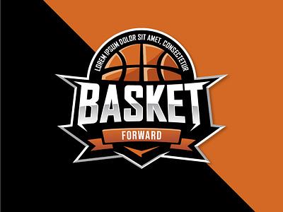 Basketball badge flat logodesign illustration vector design baseball emblem logo badge basketball logo basketball