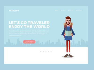 landing page traveler