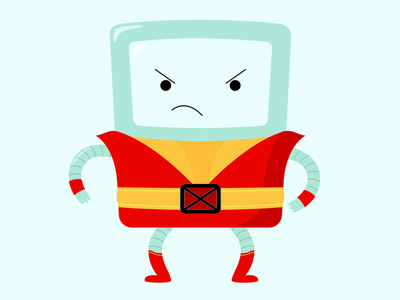 Beemo Colossus, Adventure Time X-Men Crossover crossover xmen adventure time vector illustration