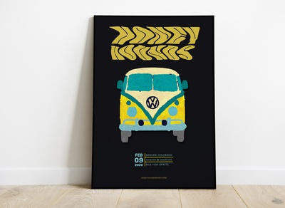 Gig Poster - Honey Hounds