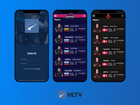 HLTV.org - UI Concept