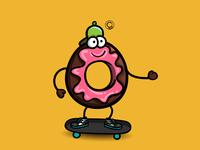 Donut skater