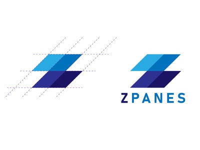 Z PANES | Logo Design Process