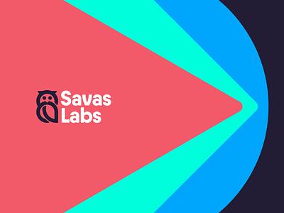 Meet Ava design branding triangles square circles flat logo
